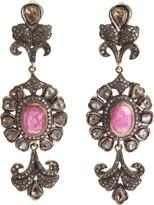 Petralux diamond baroque earrings