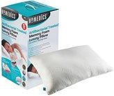 Homedics MFHAB88435UP Antibacterial Memory Foam Pillow, White