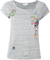 Mira Mikati printed patch T-shirt - women - Cotton - 34