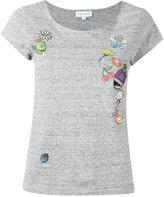 Mira Mikati printed patch T-shirt - women - Cotton - 36