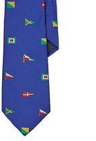 Ralph Lauren Signal Flag Silk Tie