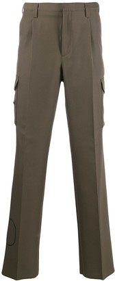 Valentino V logo stamp trousers