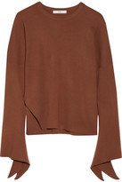 Tibi Wool Sweater - Brick