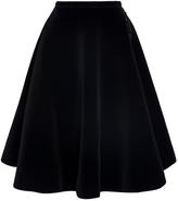 No.21 A-Line Velvet Skirt