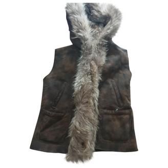 Parajumpers Camel Denim - Jeans Jacket for Women