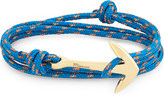 Miansai Gold-plated anchor rope necklace