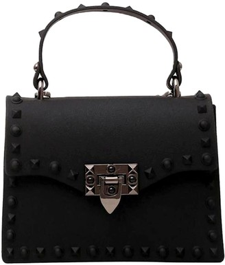 Delayne Dixon Dd20 Rebel Rich Bag - Studded Vegan Leather In Black