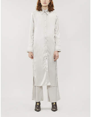 Acne Studios Dimara satin dress