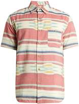 Faherty Coast patch-pocket cotton shirt