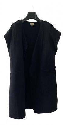 Issa Black Wool Jackets