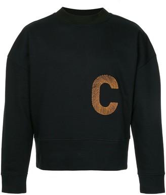 Cerruti Letter Print Sweater