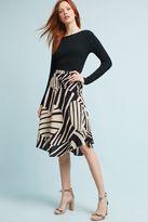 Maeve Elsbet Printed Midi Skirt
