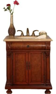 "Tubbs Astoria Grand 32"" Single Bathroom Vanity Set Astoria Grand"