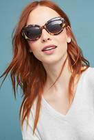 Anthropologie Retro Tortoise Cat-Eye Sunglasses