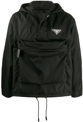 Prada Large Pocket Windbreaker Jacket