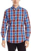 U.S. Polo Assn. Men's Poplin Plaid Shirt