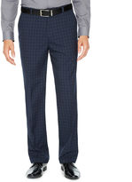 Jf J.Ferrar Checked Stretch Slim Fit Suit Pants - Slim