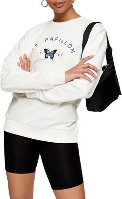 Topshop Papillon Sweatshirt