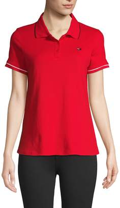 Tommy Hilfiger Short-Sleeve Cotton-Blend Polo