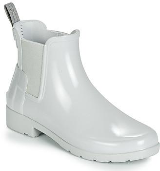 Hunter KIDS women's Wellington Boots in Grey