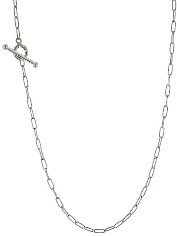 Cathy Waterman 20 Inch Fine Spanish Chain Necklace - Platinum