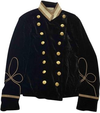 Denim & Supply Ralph Lauren Black Velvet Jackets