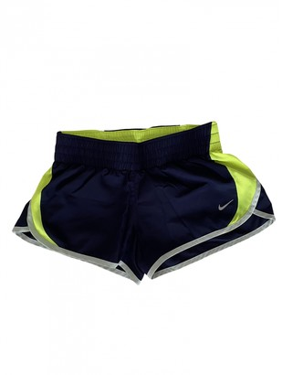 Nike Purple Lycra Shorts for Women