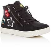 Steve Madden Girls' Emoji Part 2 High Top Sneakers - Little Kid, Big Kid
