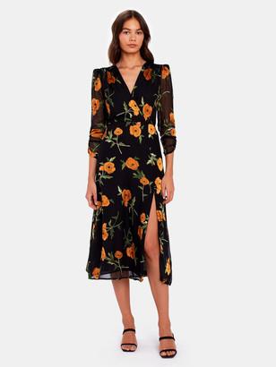 ASTR the Label Joni Midi Wrap Dress