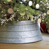 Crate & Barrel Galvanized Tree Collar