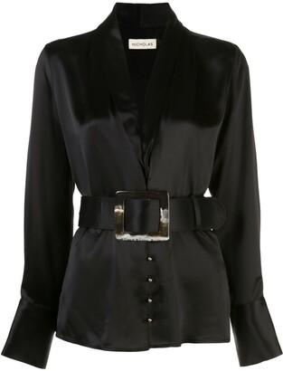Nicholas Shara belted blouse