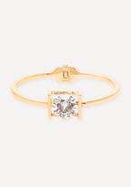Bebe Large Crystal Bracelet