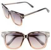 Tom Ford Tracy 54mm Retro Sunglasses