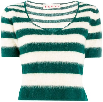 Marni Stripped Knitted Top