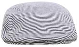George Striped Flat Cap