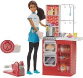 Barbie Spaghetti Chef Doll & Kitchen Playset