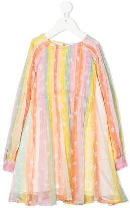 Stella Mccartney Kids Star Print Dress