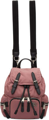 Burberry Pink Small Puffer Crossbody Backpack