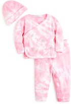 Baby Steps Babysteps Infant Girls' Scattered Hearts Tie Dye 3-Piece Set - Sizes 0-3 Months