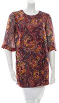 Elizabeth and James Silk Printed Top