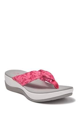 Clarks Arla Jane Wedge Thong Sandal