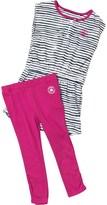 Converse Infant Girls Dress And Leggings Set Plastic Pink