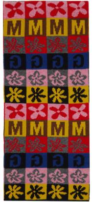 Molly Goddard Multicolor Vinnie Checkerboard Scarf