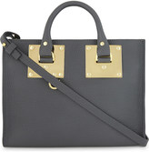 Sophie Hulme Albion East/West mini leather tote bag