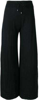 Barrie Fine Knit Cropped Trousers