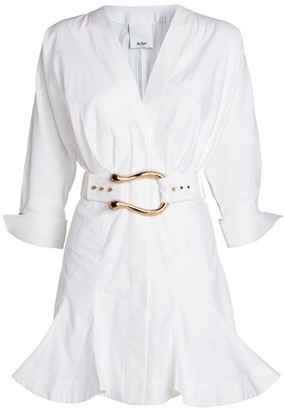 Acler Bastor Belted Shirt Dress
