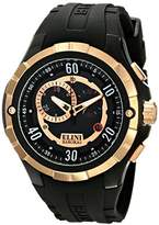 Elini Barokas Men's ELINI-10005-BB-01-RB Trespasser Swiss Quartz Watch