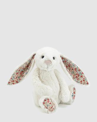 Jellycat White Animals Blossom Bashful Cream Bunny Medium - Size One Size at The Iconic