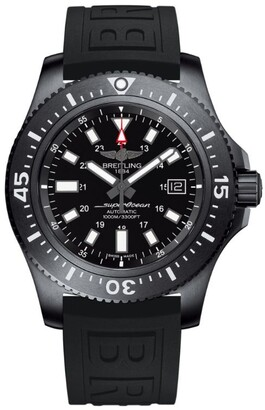 Breitling Stainless Steel Superocean Watch 44mm