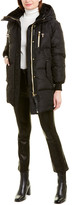 Mackage Kandee Leather-Trim Down Parka